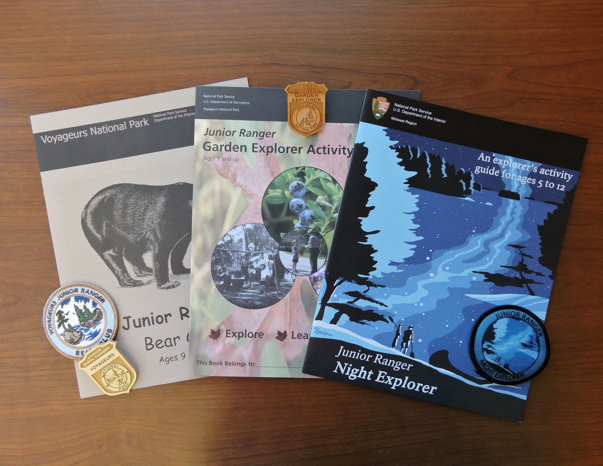 NPS junior ranger books