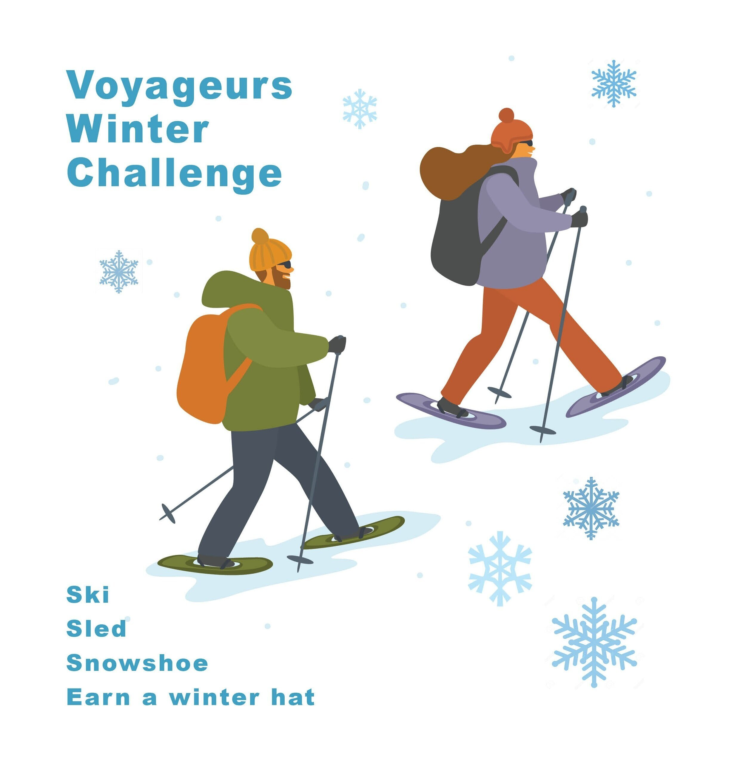 Snowshoe Ski Challenge Voyageurs National Park Association