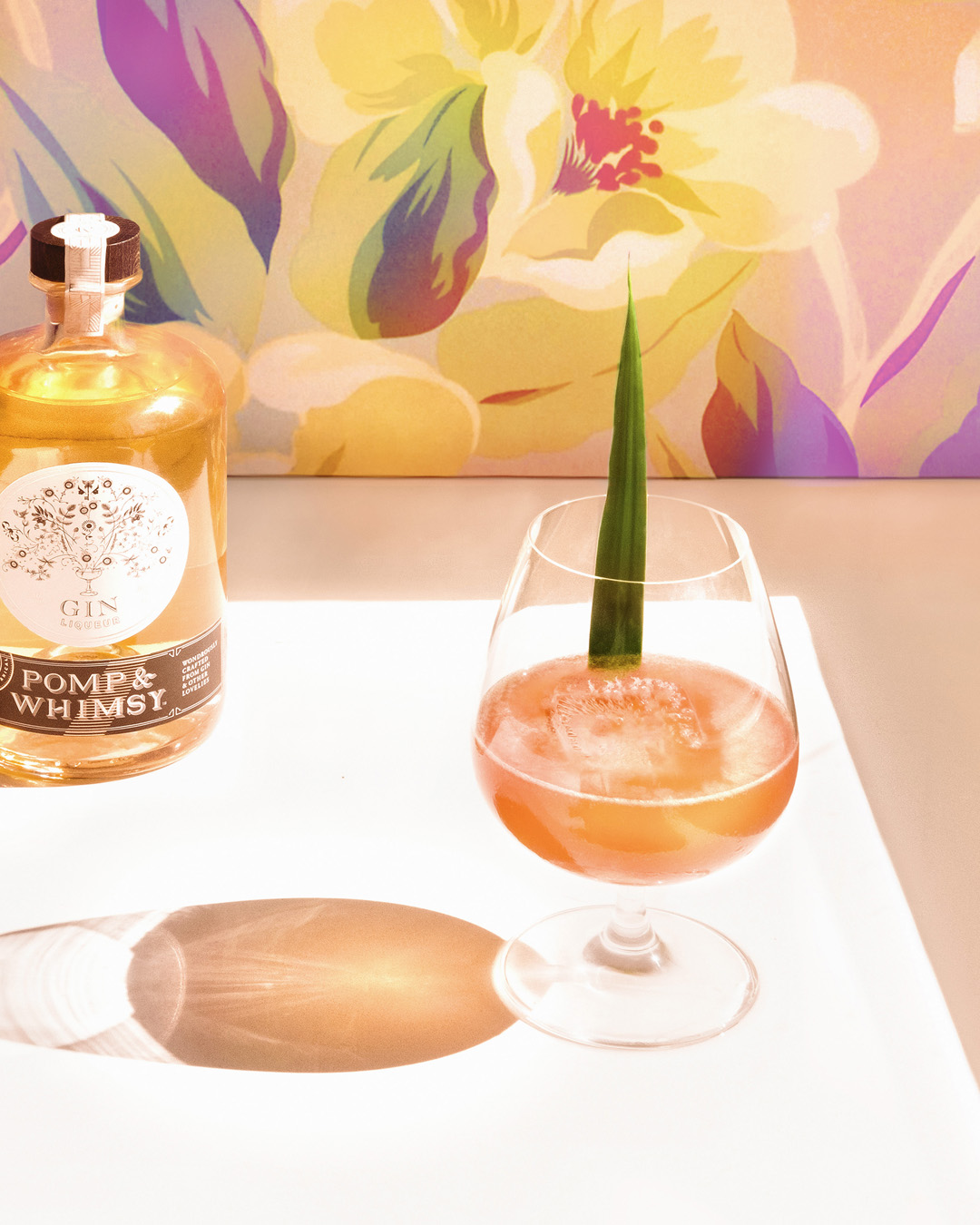 6 O'CLOCK TEA-KI TIME   2  oz  Malahat Black Tea Rum 1  oz  Pomp & Whimsy 1  oz  lime juice ½  oz  simple syrup dash tiki bitters or tiki spices   Shake ingredients with ice. Strain over ice into a glass and garnish with much muchness.