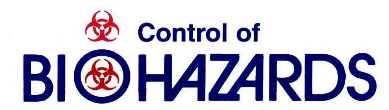 Control of Biohazards Course