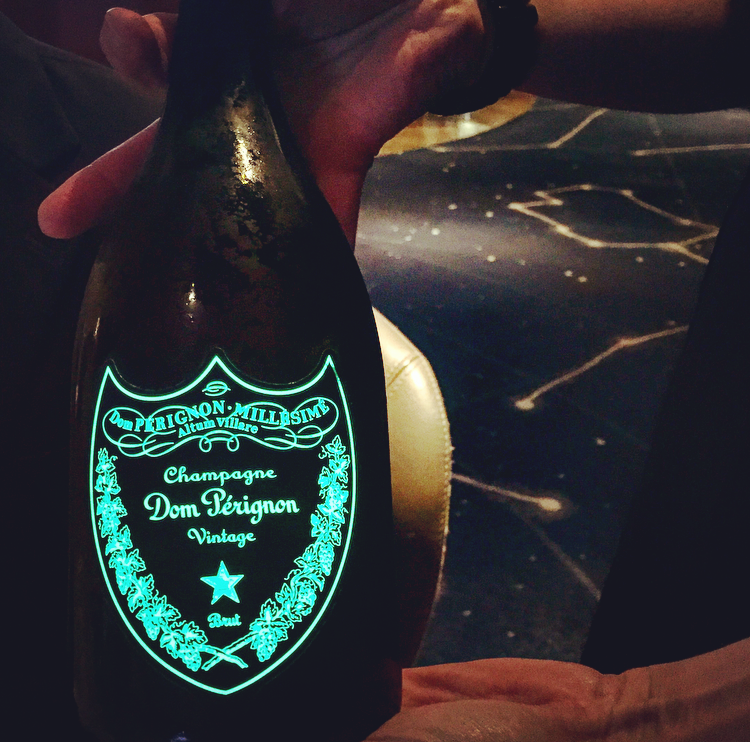 Some vintage Dom to accompany Daniel Humm's lobster course