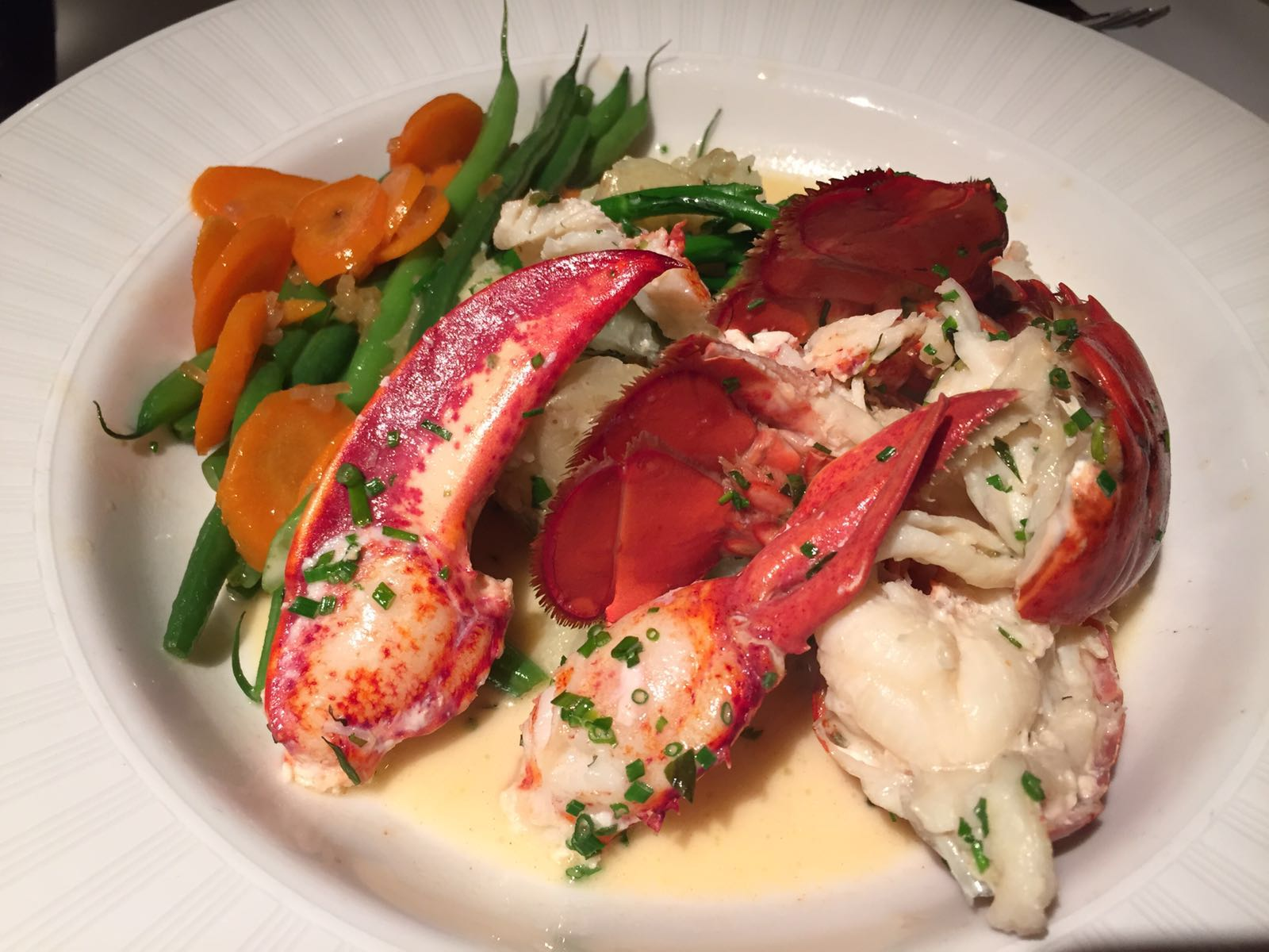 Lobster in a White Wine Nage with Tarragon