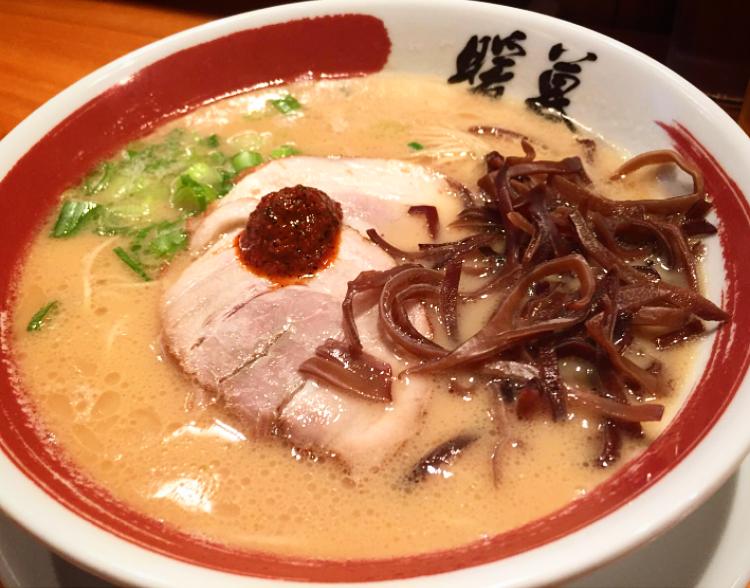Classic Tonkotsu Ramen & Cloud Ear Mushroom
