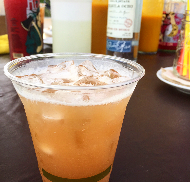 I absolutely love the sweet & sour flavours in the tamarind margarita