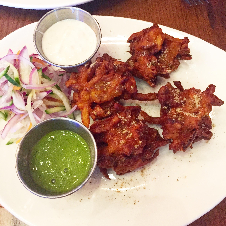 Pani's Onion Bhajis