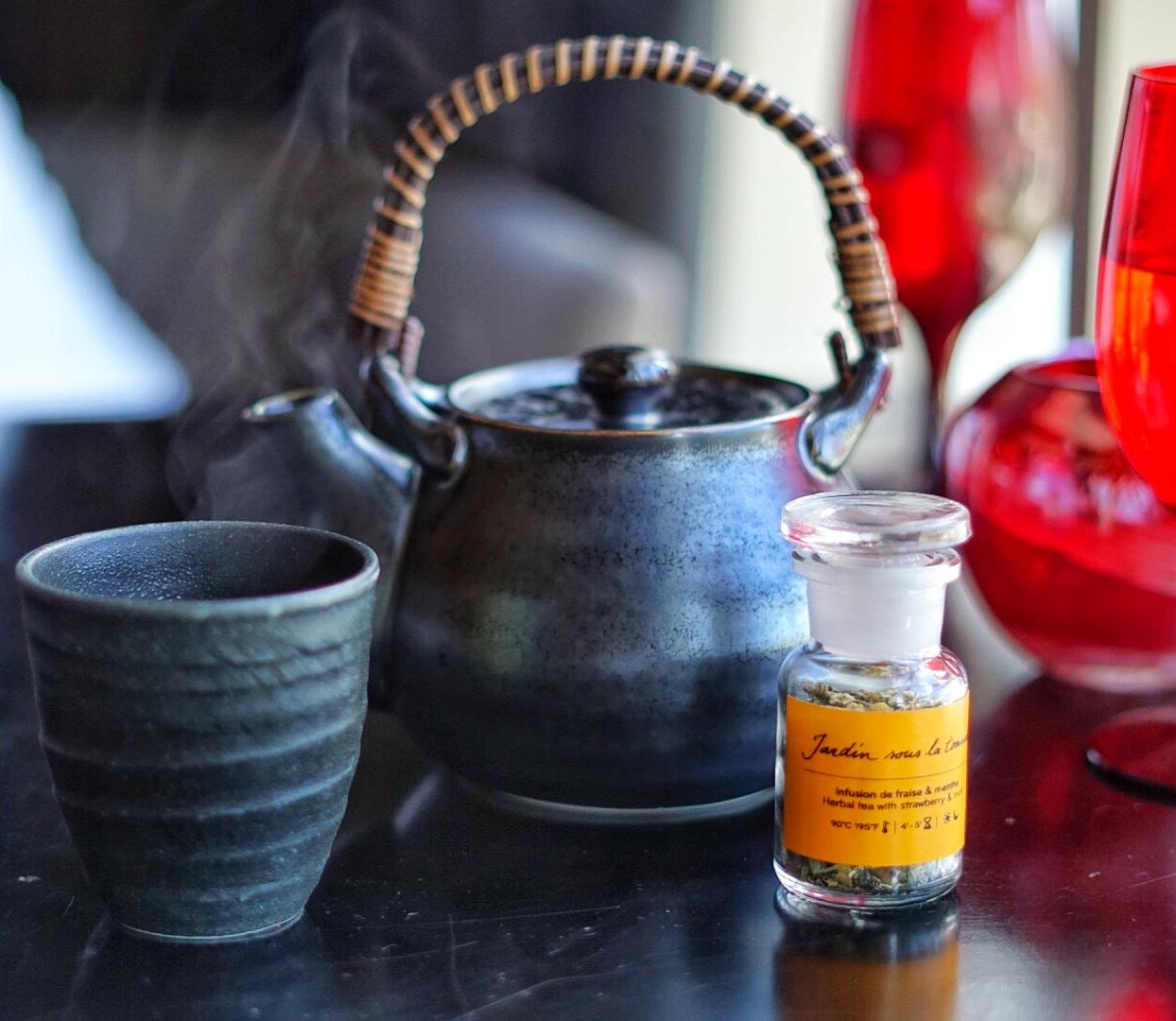 Grab a cup of herbal tea