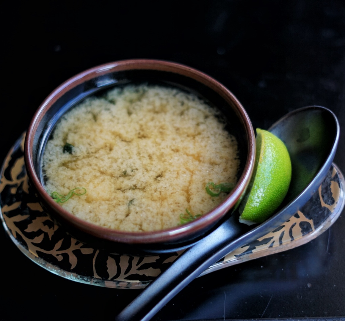 One of the best Miso Soups on island