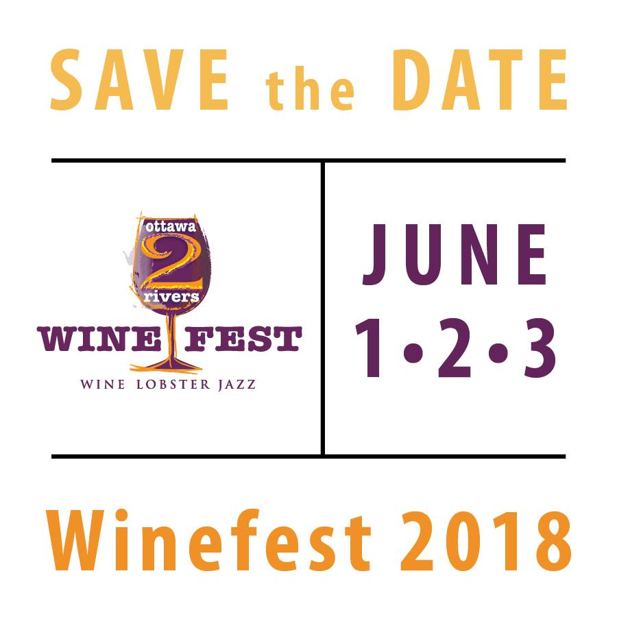 - Join us in Ottawa for the 2 Rivers Wine Fest this year!
