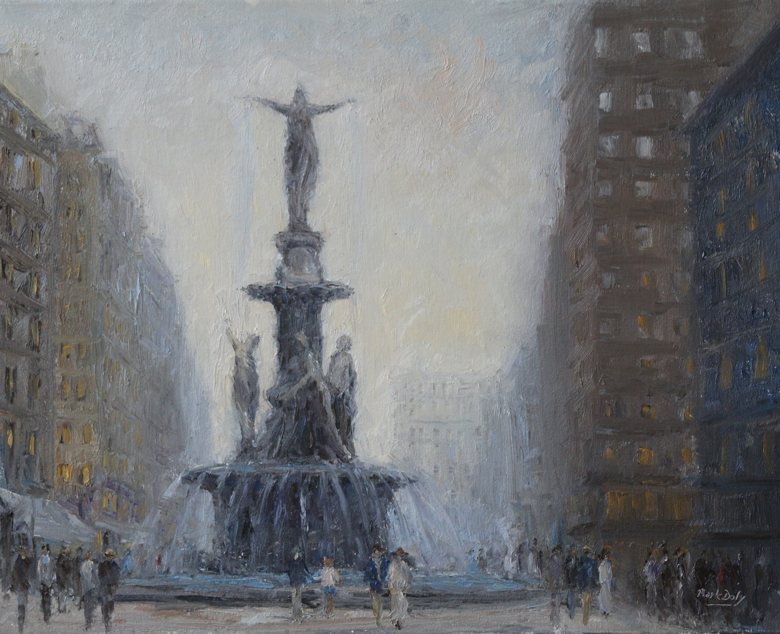 Genius of Water-Tyler Davidson Fountain, Cincinnati
