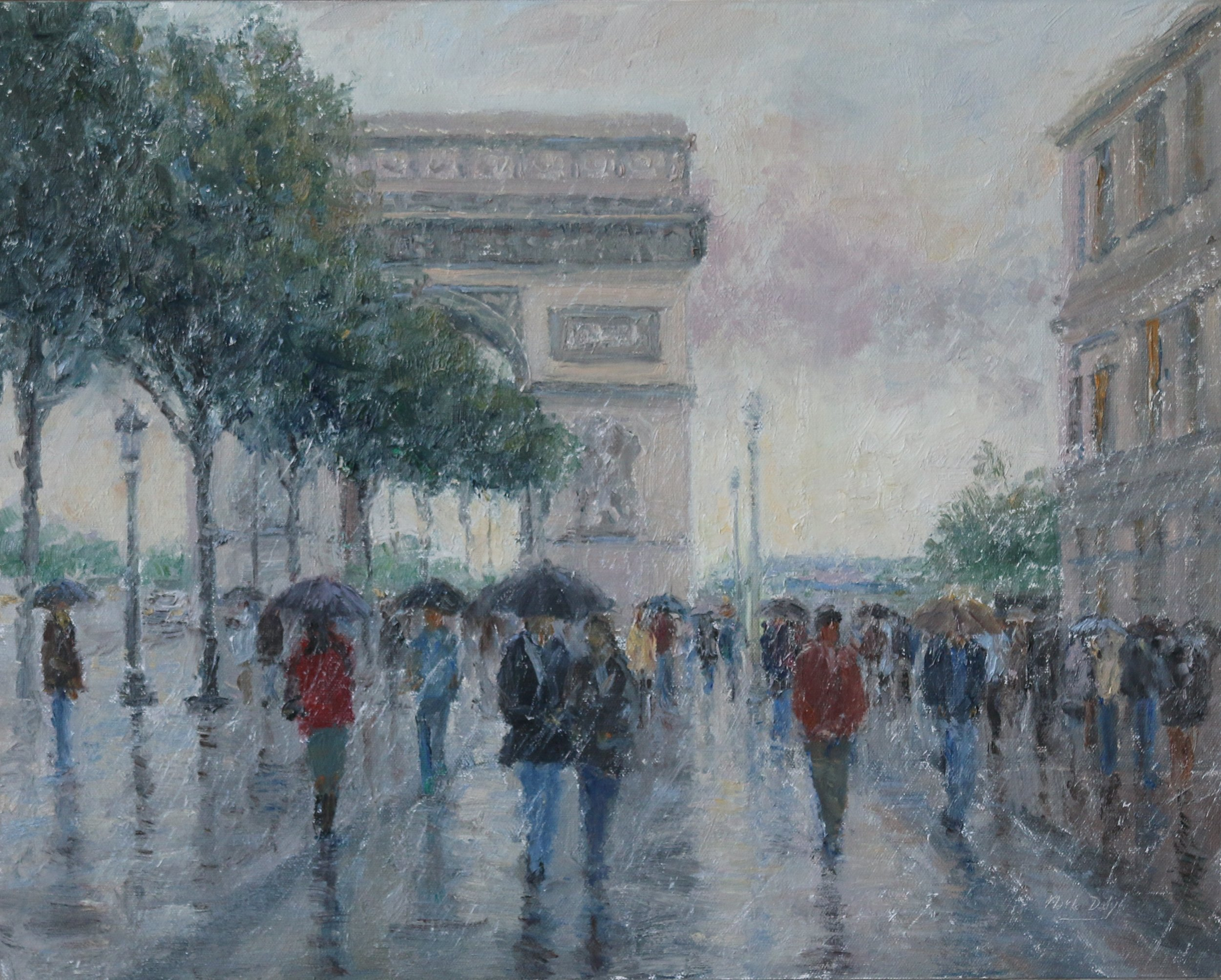 Rainy Day, Champs Elysees