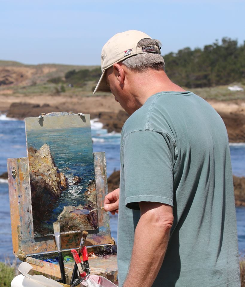 Daly Painting Point Lobos
