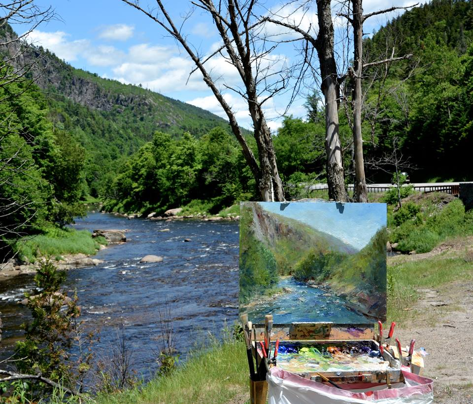 Daly Painting Ausable River