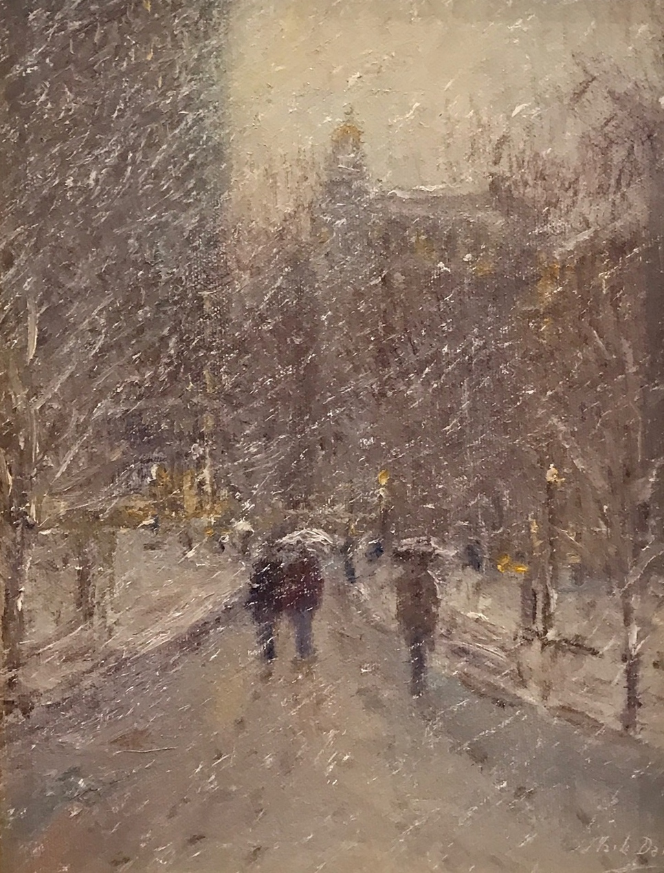 Warm Snow, Madison Square Park