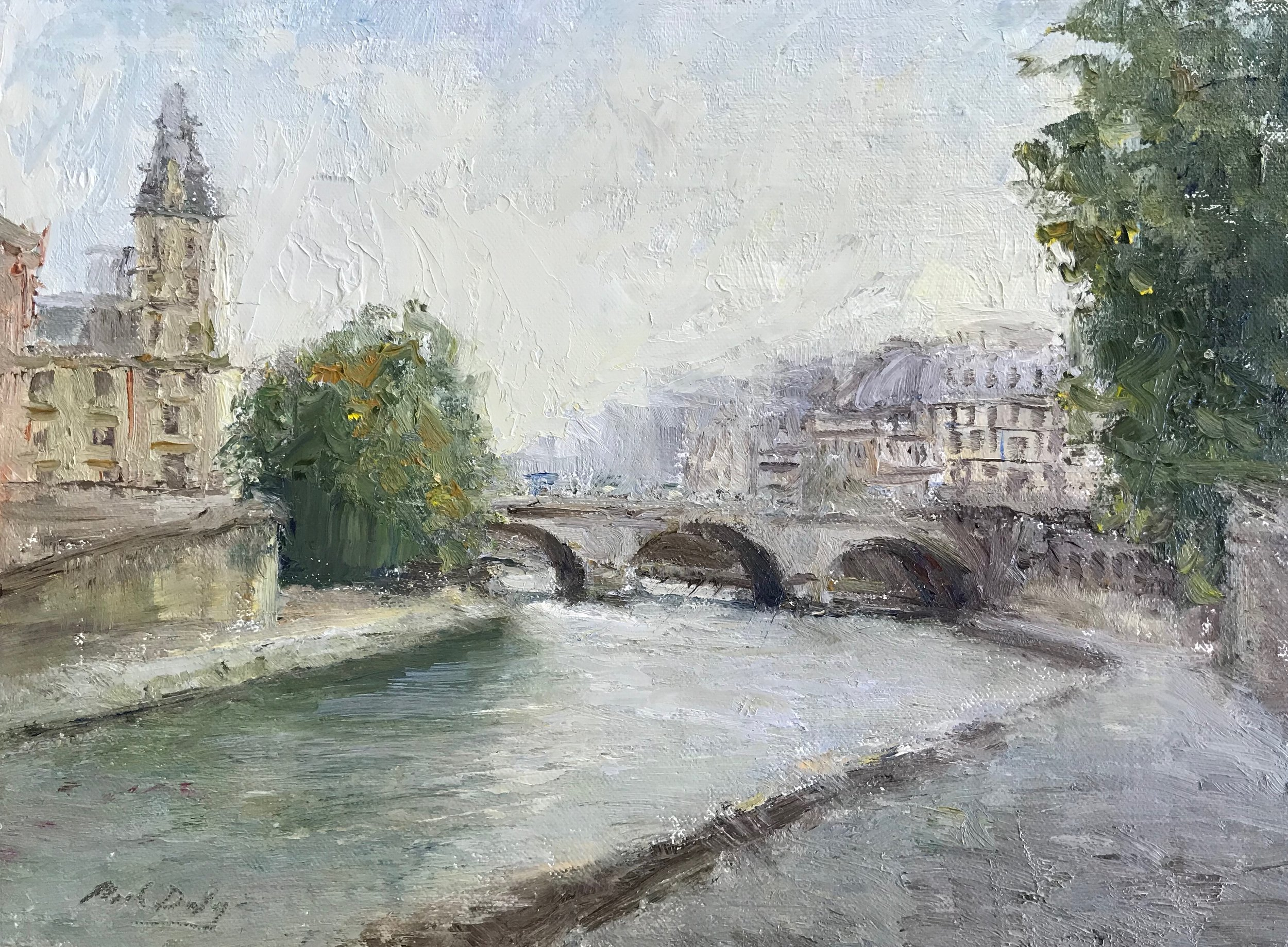 Morning Along The Seine