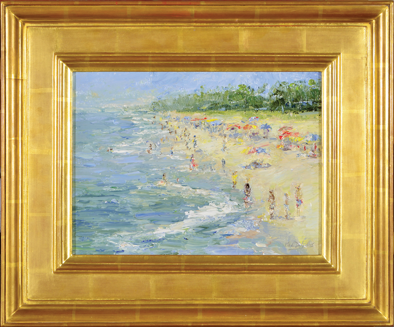 Naples Beach, oil, 9 x 12. Sold by Cincinnati Art Galleries in New Summer Selections Show.