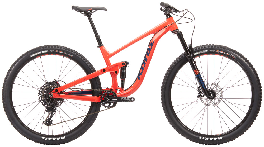 KONA Bikes newest trail slayer. 134mm of travel in the rear, 140mm up front. we demo the Aluminum Deluxe build, that strikes a great balance of performance and function. Suited for the trail rider, that will push his limits, but doens't need a full enduro bike.Sizes available: Med, large, XL -