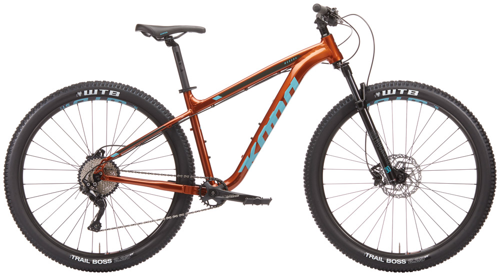 A simple hardtail for hitting trails or getting around town. 29inch wheels, a 1x drivetrain, and tubeless. This is a great choice if your ride doesn't require a full suspension super bike.Sizes Available: Small, med, large, xl -