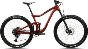 This is arguably the most progressive bike we have seen from Giant, and it is blast to ride. Short 115mm of travel paired with a slack (66.5 head tube angle) and 130mm travel fork. This is a great progression for the modern trail bike. Best served as an all around trail bike.Sizes Availible: S, M, L, XL -