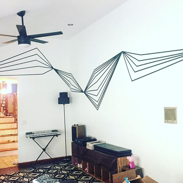 Something a little different, a tape mural done a few months ago for @freedove ! . . . . . #painting #art #nashvilleartist #painter #artist #paint #nashvillestyle #nashvillegram #abstract #abstractart #artwork #artcollector #fluidpainting#artforsale #apartmenttherapy #artlovers #womenartists #aesthetic #buyart#decor#contemporaryart #handpainted #homedecor #interiordecor#loveart #livewithart #paint #paintingforsale#fluidartgallery