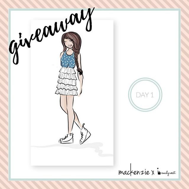 Sunday funday 💜 want this signed by @kenzieziegler sketch from the #mackenzieXemilywest collection? Comment below and let us know how you style your favorite dresses including #sweepstakes for a chance to win 😍 Winner announced tomorrow! - One comment per entrant. No purchase necessary. Open only to legal residents of 50 US/DC, 13+. Promotion runs March 19, 2017-March 22, 2017. Void where prohibited. Click the link in bio for official rules.