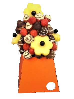 strawberry & Pineapple bouquet by fruitybouquets.jpg