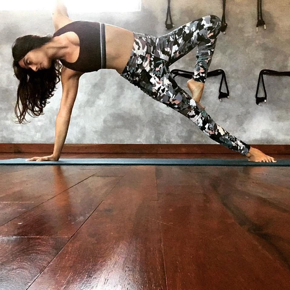 """Mariana   Mariana is from Guadalajara, Mexico. Through constant practice, Mariana witnessed the internal and external changes yoga brought about. Subsequently, she decided to share the yoga practice as a teacher. She studied yoga in Playa del Carmen and received her certification in Vinyasa Flow from Alan Montano in 2016. """"Yoga changed my life and helped me cure physical and emotional problems. It was also crucial in allowing me to respect and accept myself"""". Mariana shows her students how yoga helps us live less accelerated lives and be in the moment. Balancing postures are her favorites both in her personal practice and in her teaching because """"you can see yourself and your students build confidence, something that can improve each and every person's life. """" Mariana teaches Vinyasa Flow and the full moon meditation at Tribal."""