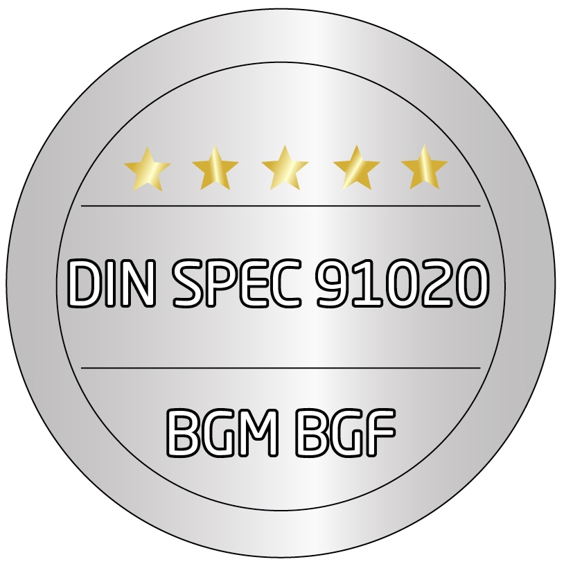 Siegel+BGM+Zertifikat+DIN+SPEC+91020