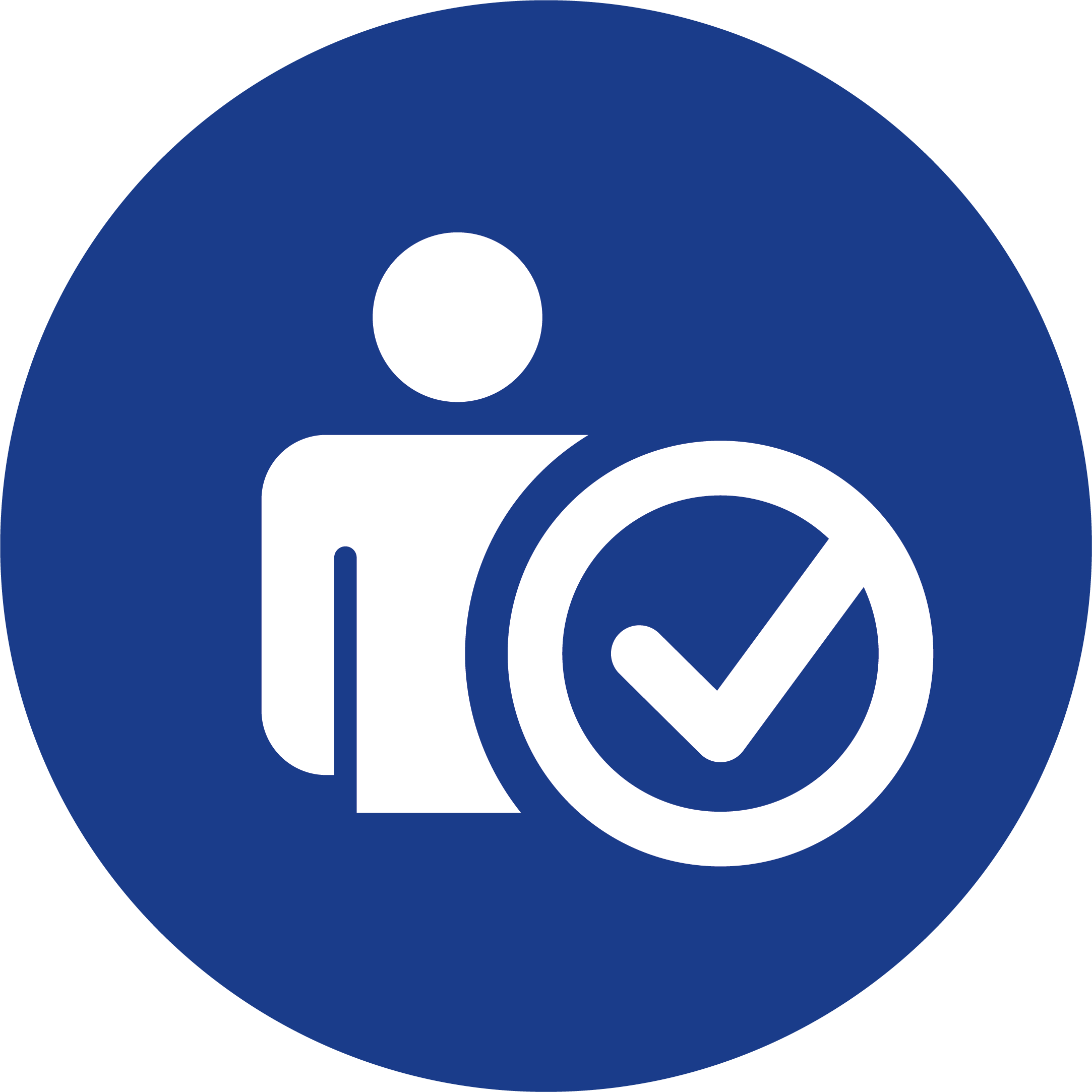 20180810 RPC Consulting GmbH Icon Haken blau weiß.png