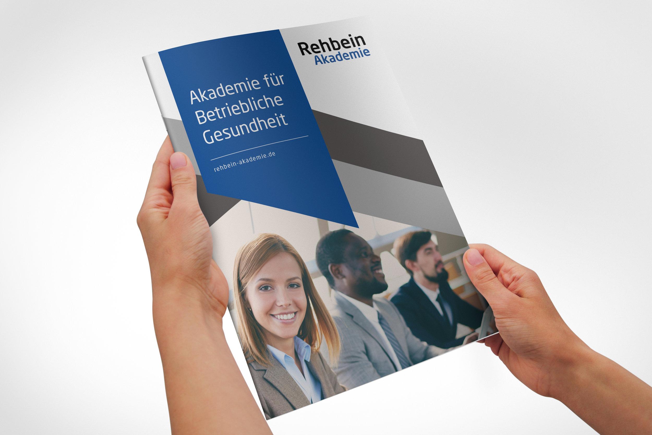 Rehbein Akademie Kompetenzbroschüre Akademie für Betriebliche Gesundheit