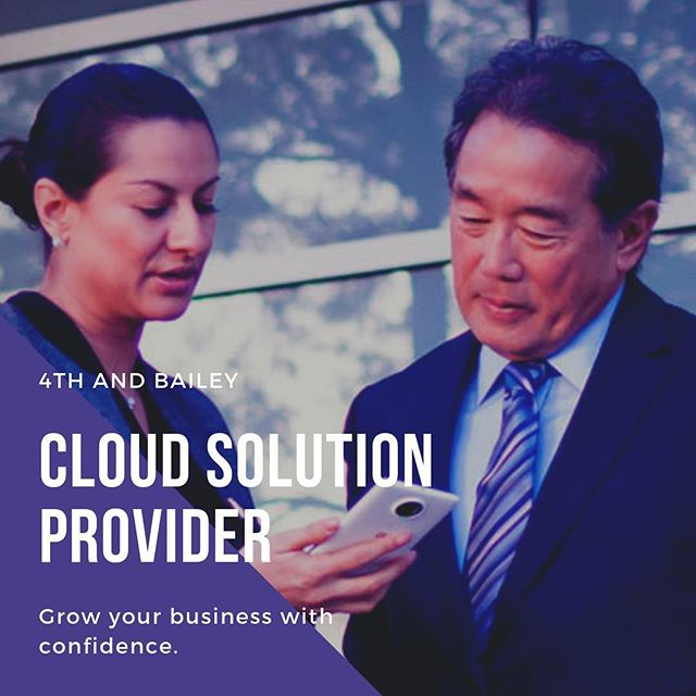 Grow your business with confidence.  #4thandbailey #activedirectory #businessowner #cfo #lawfirm #cio #cloudcomputing #commericalrealestate #directorofit #healthcare #houston #cloudsolutionprovider #itadmin #itpro #itprofessional #itservices #microsoft #oilandgas #paas #server #software #sysadmin #tech #technology #vmware #windows #entrepreneur #business #enterprise #smallbusiness