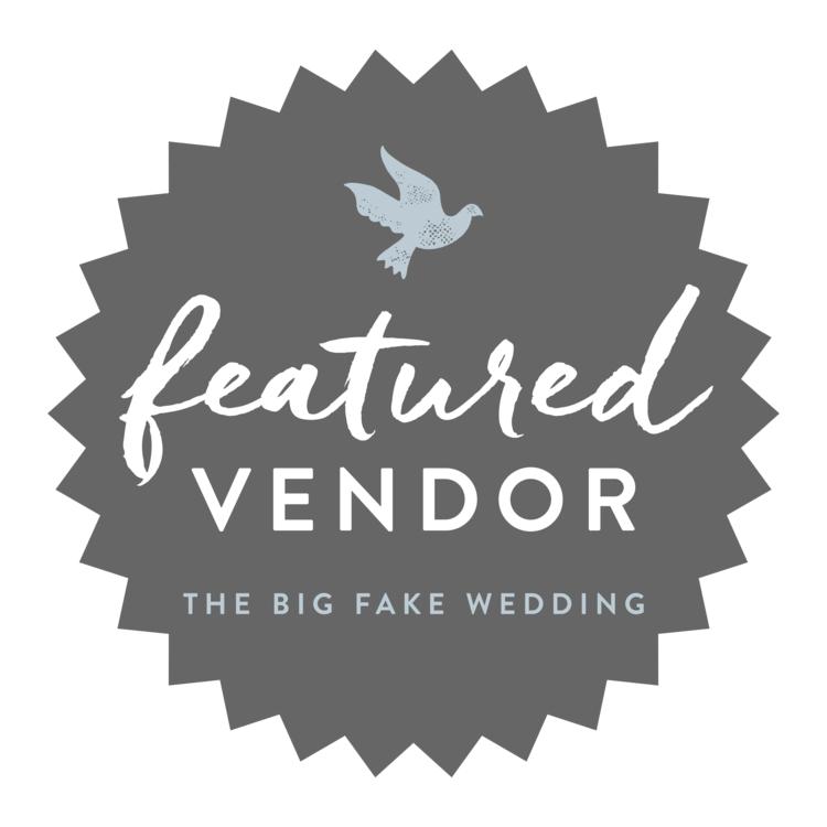 Featured Vendor The Big Fake Wedding