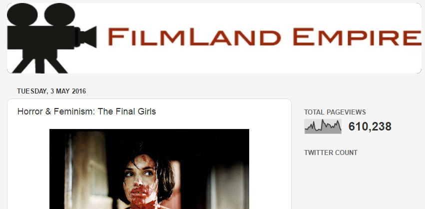 '  Horror & Feminism: The Final Girls'  - Interview with Filmland Empire