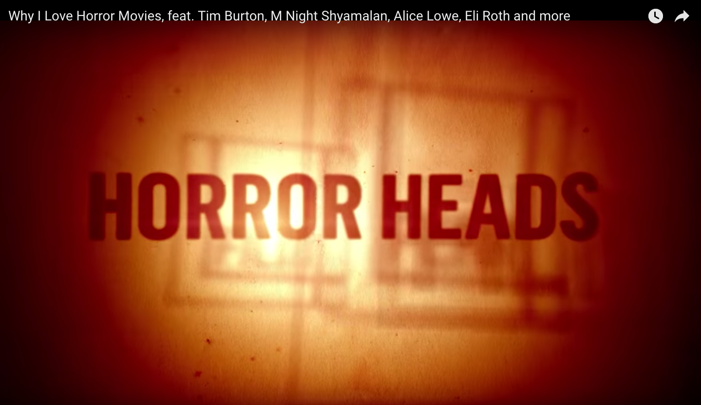 Interview for  Film4 Horrorheads - 26th Oct 2016