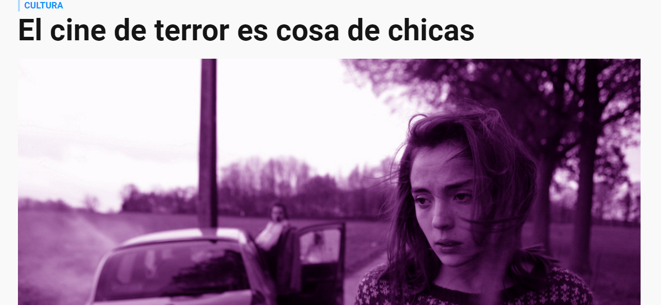 Horror Movies are Girls' Stuff - Interview with GQ Spain