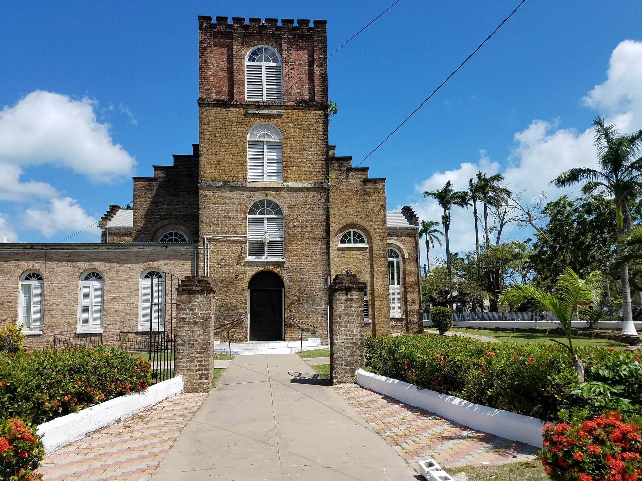 Clue number 1: Built from bricks brought from England as a ship's ballast, St. John's Cathedral is the oldest Anglican church in Central America. In days past it served as venue for the crowning of kings of the mosquito coast. **Photo credit: Jennifer Young**
