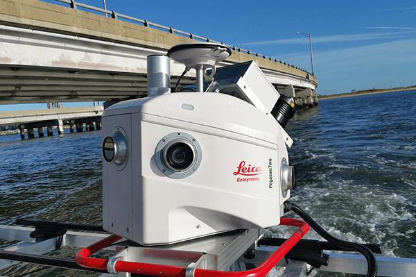 Hydrographic Survey and LiDAR Shoreline and Island Survey - Hampton Roads Bridge Tunnel