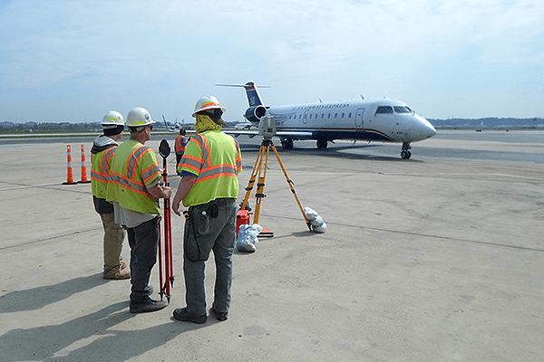 Topographic and As-Built Survey - Ronald Reagan National Airport Express Ramp