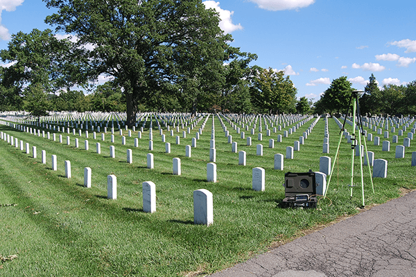 Topographic and As-Built Survey - Arlington National Cemetery Millennium Project