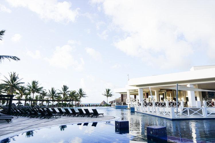 Secrets Silversands | Cancun, Mexico   YouTube, Blog Post,  Instagram