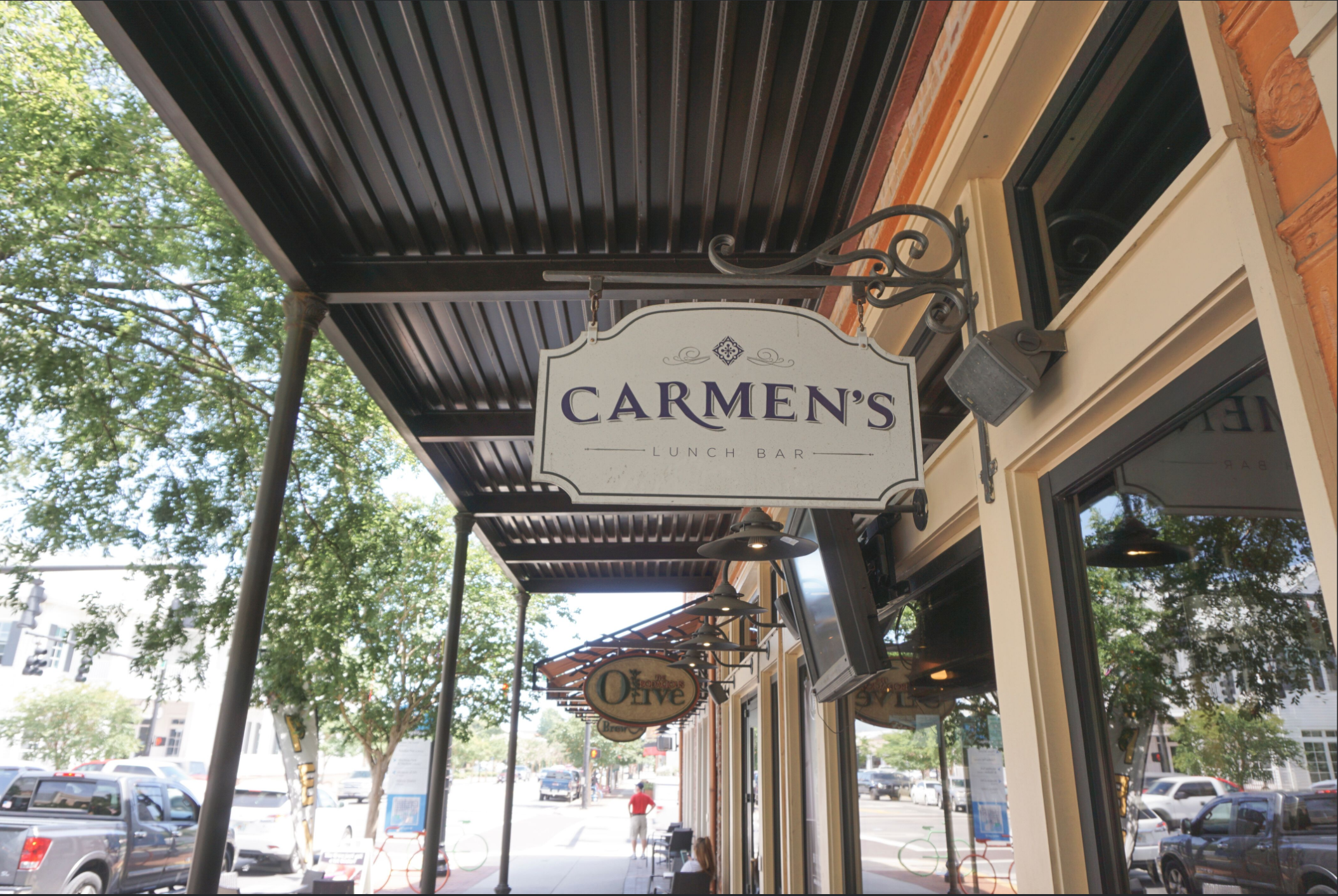 Carmen's Lunch Bar  in downtown Pensacola