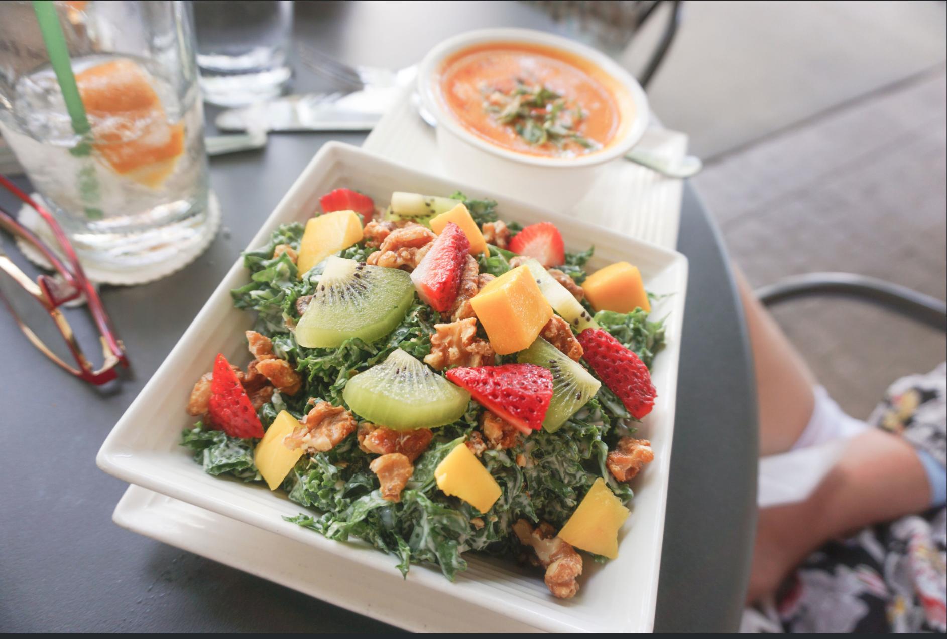 Citrus Kale Salad from  Carmen's Lunch Bar
