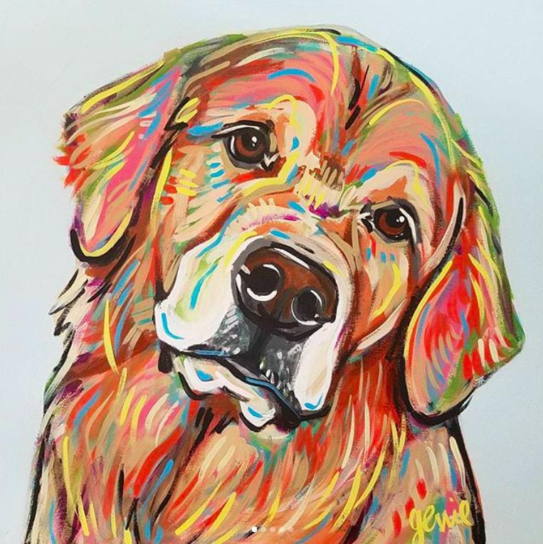 Genie Thompson - Genie Mack Pet Portrait GR.png