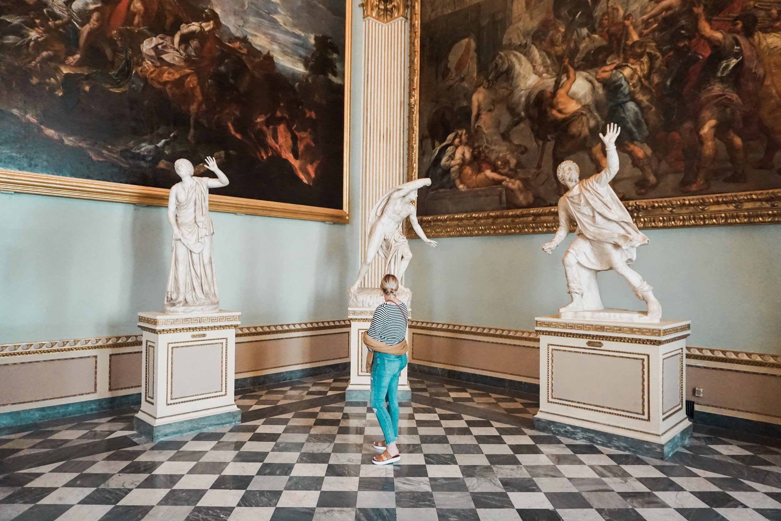 They also happen to have some of the most famous pieces of art work in the world. Michelangelo's Statue of David, The Gates Of Paradise, The Birth of Venus, The Fountain of Neptune, etc.