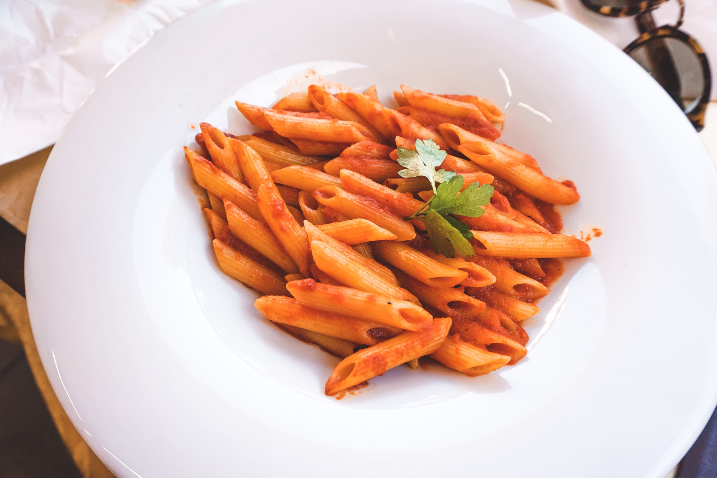 No matter where you choose to eat it, the pasta will change your life.