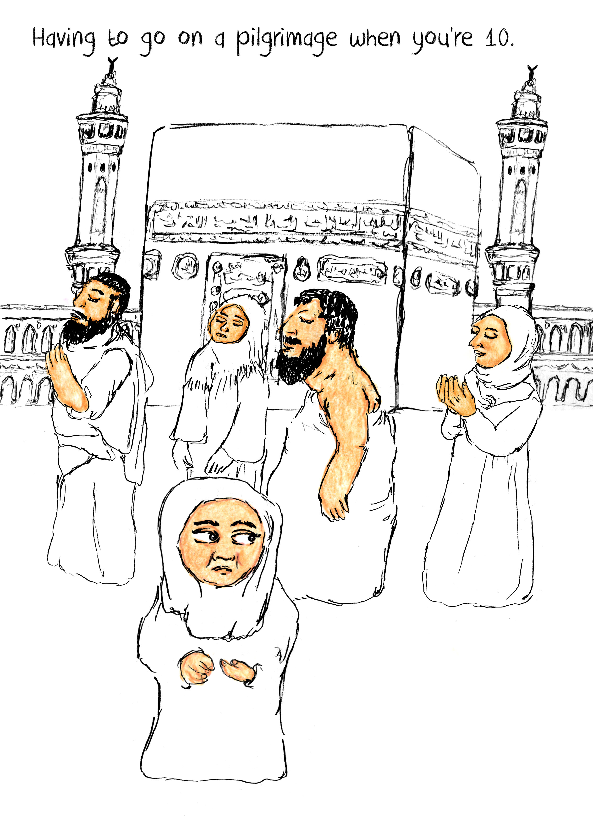 having to go on a pilgrimage when youre 10.jpg