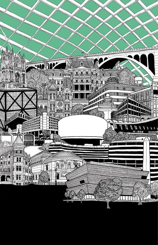 DC Architecture — Illustration