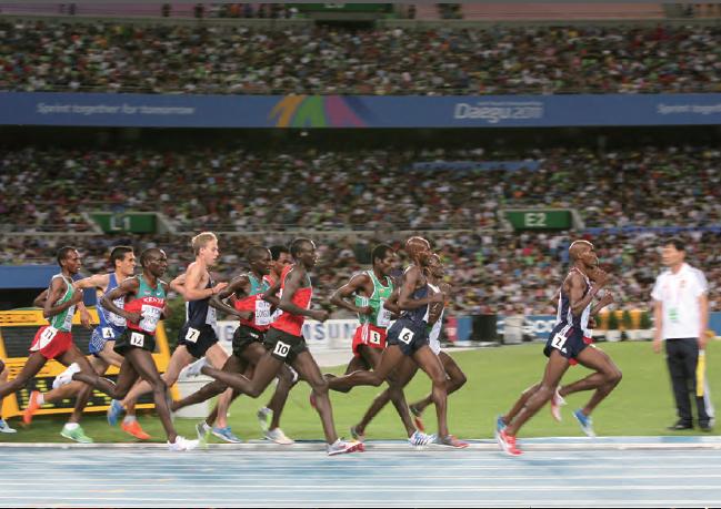 2011년 대구 세계육상선수권대회의 장애물 달리기 경기