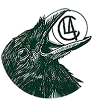 CLA Illustration crow logo round 6.95cm.png