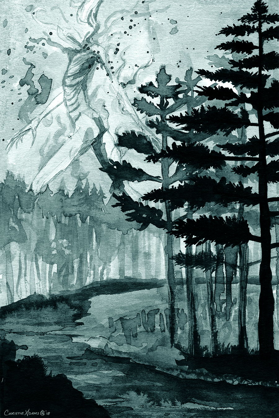 2018_BW_Inktober_forestspirit_website.jpg