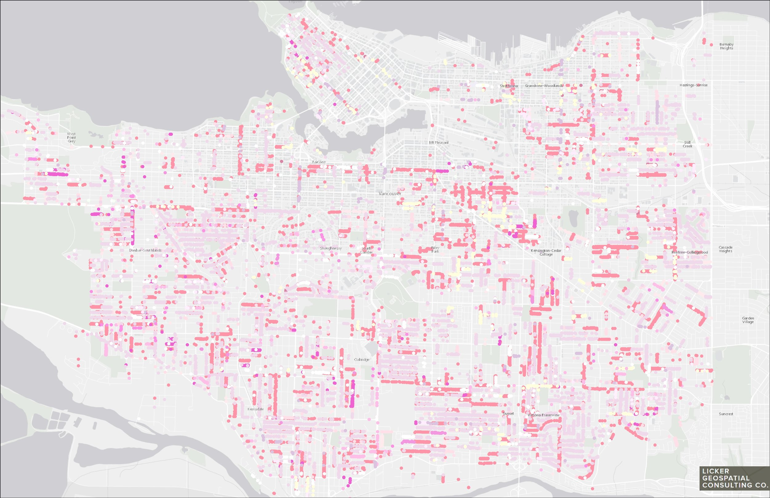 Every Flowering Cherry and Plum Tree in Vancouver...